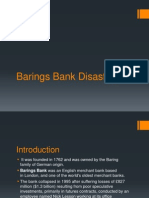 Barings Bank Disaster