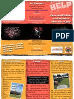 Fireworks Safety Brochure - Hawaii County