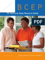 NABCEP PV Tech Sales Resource Guide Final 10-7-2013
