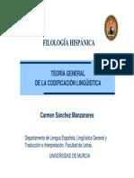 Codificación BIII T1 Significación