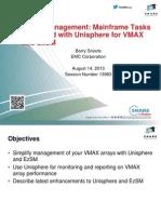 VMAX Management Mainframe