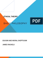 Richie Ethical Theory