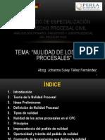 Diplomado de Especialización en Derecho Procesal Civil