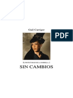 2. Sin Cambios - Gail Carriger