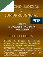 Derecho Judicial y Jurisprudencial