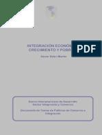 Integracion Economica, Crecimiento y Pobreza