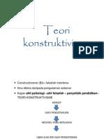 teori pembelajaran konstruktivis3333