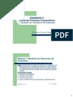 Modelos de Valoración de Empresas V2