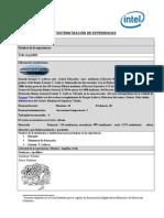 formato sistematizacin de experiencias - urgente