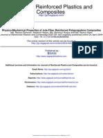 Physico-Mechanical Properties of Jute Fiber