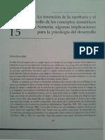 La Invención de La Escritura y El Desarrollo de Los Conceptos Numéricos en Sumeriaalgunas Implicaciones Para La Psicología Del DesarrolloAGELIKI NICOLOPOULOU