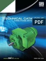 CAT 01 Technical Catalogue Screen