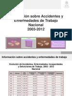Accidentes y Enfermedades Trabajo
