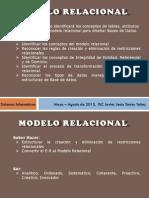 Modelor Relacional BDII JT