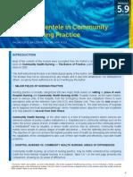 2 CC Module 5.9 Levels of Clientele in Community Health Nursing Practice