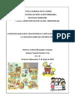 Contextualización, Diagnóstico y Situación Del Aula