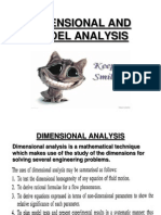 Dimensional and Model Analysis