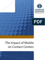 Impact of Mobile on Contact Centers