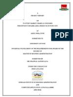 Market Share and Consumer PerceptiLon _FINAL Modify (1)