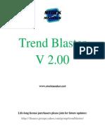 Trend Blaster Trading System for Amibroker Guide