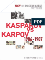 102401590 Kasparov Garry Kasparov on Modern Chess Pt 3 Kasparov vs Karpov 1986 1987