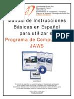 Instrucciones en Espanol - Jaws