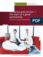 primerica and lincoln  the start of a great  partnership