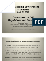 CPSC crib standards review