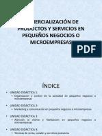 COMERCIALIZACIÓN DE PRODUCTOS Y SERVICIOS EN PEQUEÑOS NEGOCIOS. Unidad 1.pptx