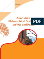 Asian-Arab Philosophical Dialogues on War and Peace, UNESCO, 2010