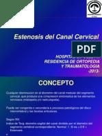Canal Cervical Estrecho
