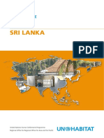 UN-Habitat Country Programme Document 2008-2009 - Sri Lanka