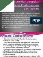 Nilai Murni Dari Perspektif Agama-Agama Taoisme Dan Confucianisme