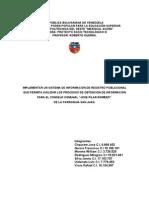 Proyecto Analisis y Diseño