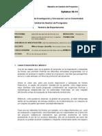 Syllabus Negociación Fuentes de Financiamiento