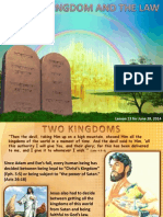 2nd Quarter 2014 Lesson 13 Christ's Kingdom and the Law