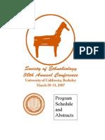 30th Ethnobiology Conference