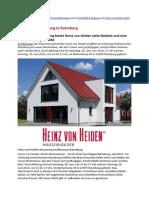 Musterhauseröffnung in Ratzeburg