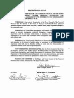 Florence Police Department (Arizona) - NEW ICE 287(g) MOA (10/15/09)