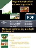Eco-produk Dan Produk Sejenis Yang Tidak Ramah Lingkungan