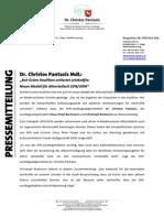 Pressemitteilung | Rot-Grüne Koalition entlastet Lehrkräfte - Neues Modell für Altersteilzeit 2015-2016