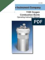 205M Parr 1108 Oxygen Bomb Inst