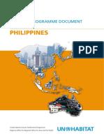 UN-Habitat Country Programme Document 2008-2009 - Philippines