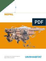 UN-Habitat Country Programme Document 2008-2009 - Nepal