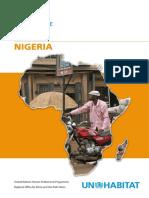UN-Habitat Country Programme Document 2008-2009 - Nigeria