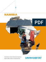 UN-Habitat Country Programme Document 2008-2009 - Namibia
