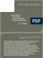 CPR UNTUK BAYI