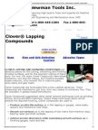 Clover Lapping Compounds and Grinding Compound, Clover Brand, Clover, Fel-pro, Felpro, Loctite Lapping Compounds, Lapping Paste