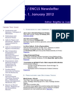 Encls Newsletter 1 Jan 2012