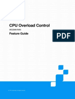 ZTE UMTS CPU Overload Control Feature Guide